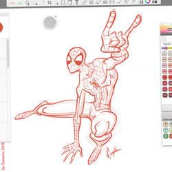 Spidey Sketch #128 by JoeCostantini