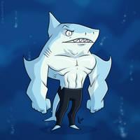 Shark Guy by JoeCostantini