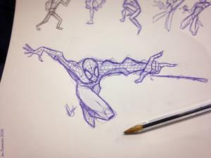 Spidey Sketch #129