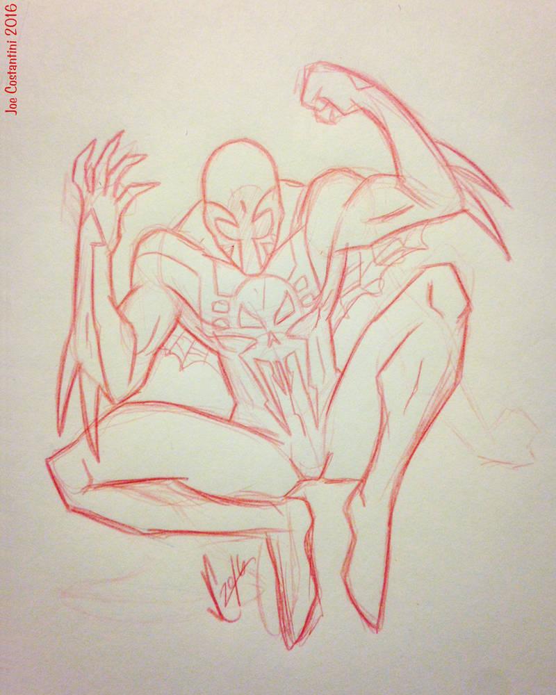 Spidey Sketch #130 by JoeCostantini