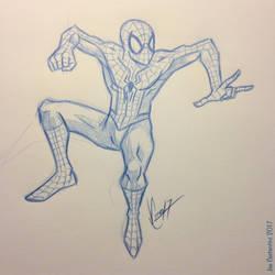Spidey Sketch #131