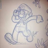 Sketching Mario