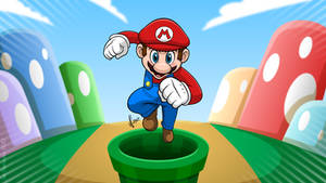 Super Mario by JoeCostantini