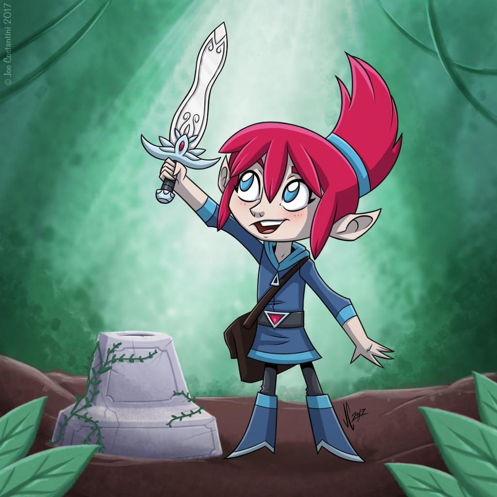Elf Girl by JoeCostantini