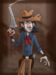 A Gunslinger by JoeCostantini