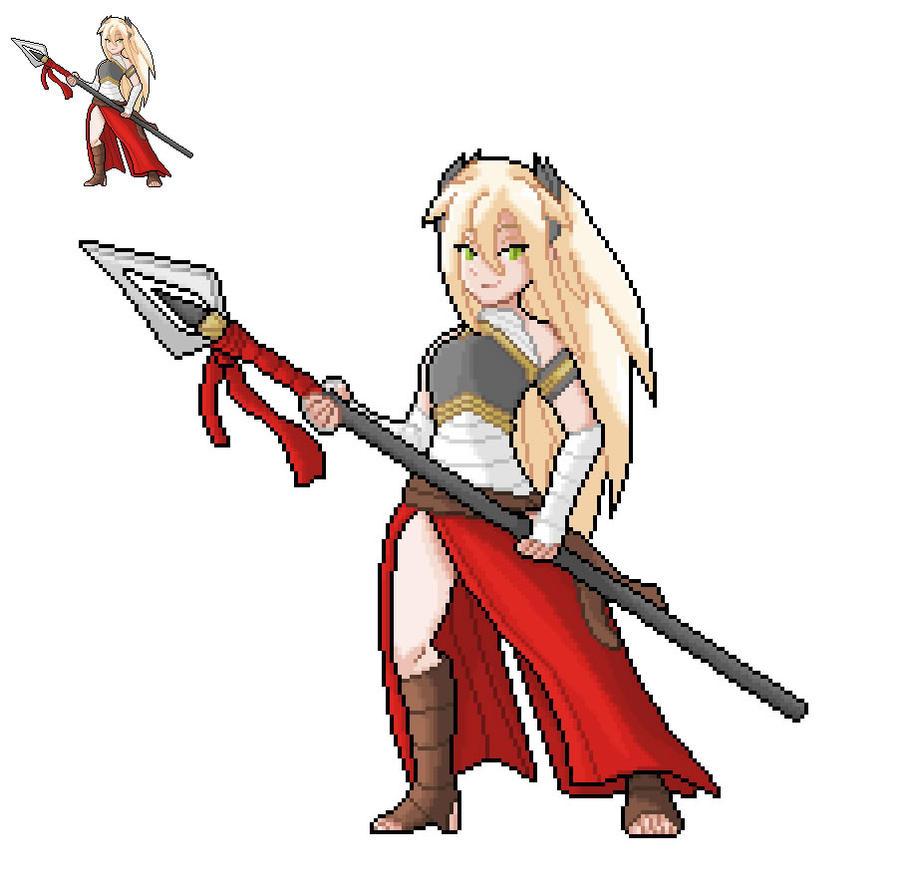 OC- Legendary Warrior- Shangri-La by Kayspriter