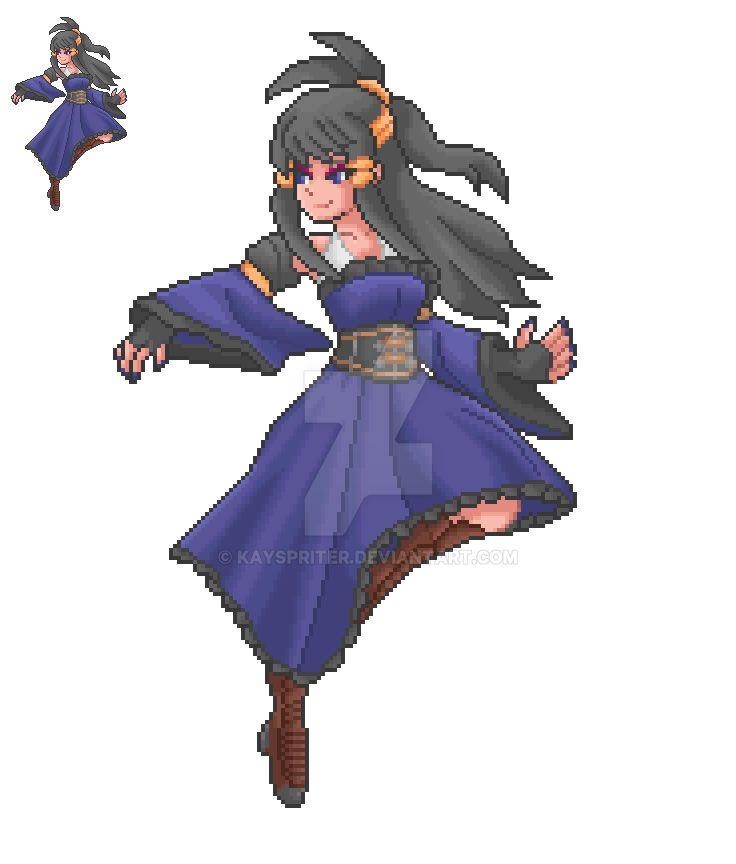 OC - Legendary Warrior - Astrea Leviathan by Kayspriter