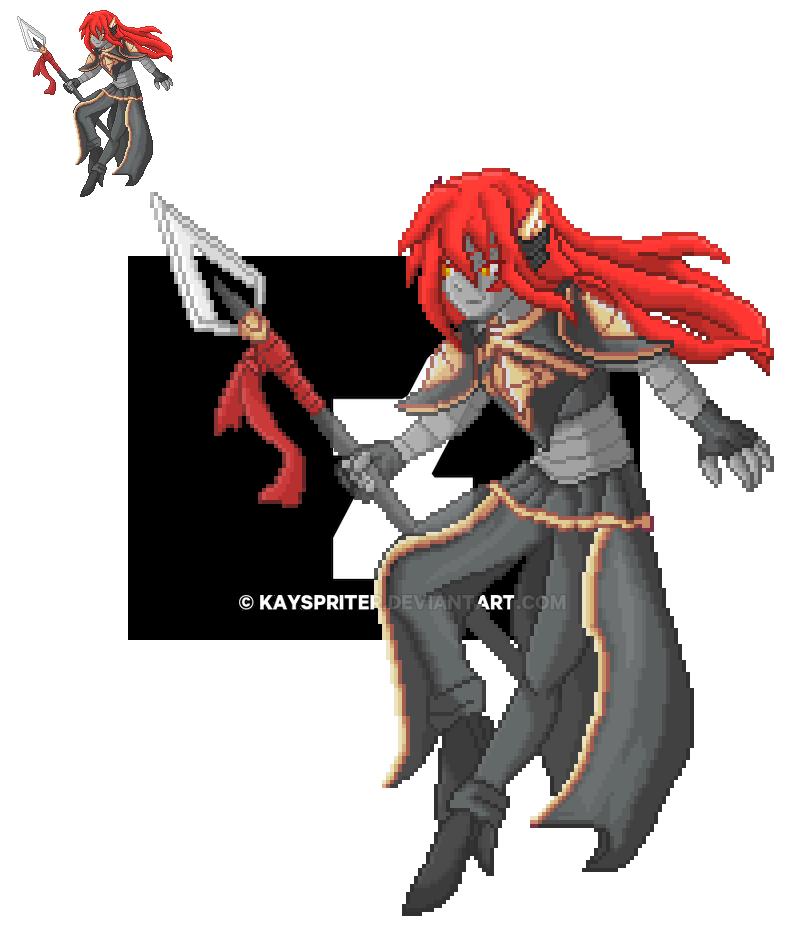 OC - Legendary Warrior - Sol Aurora by Kayspriter