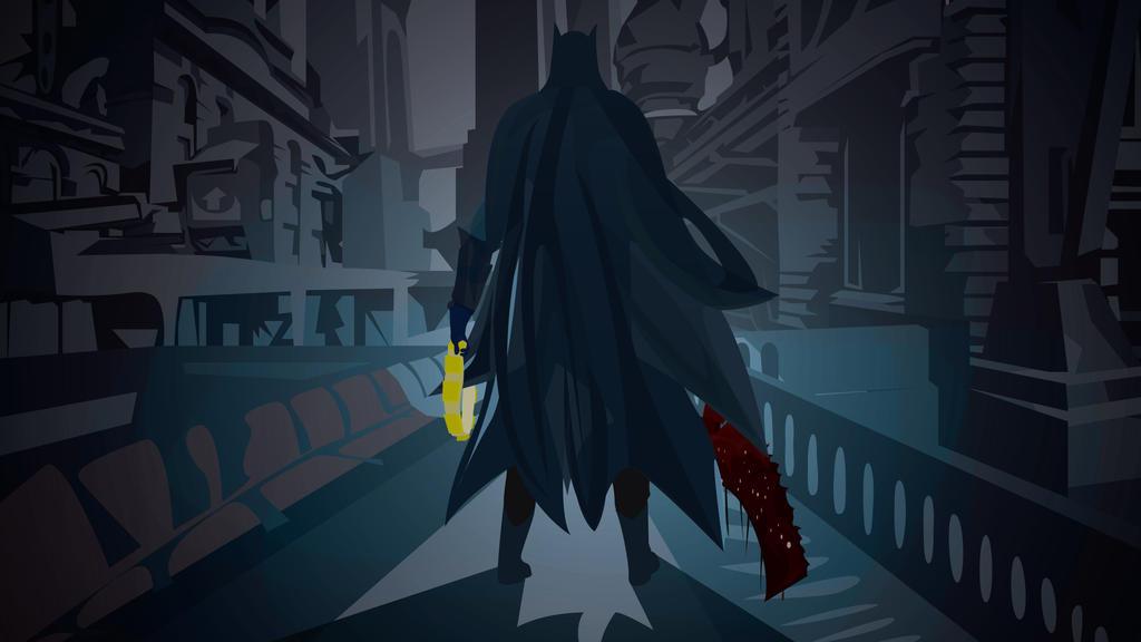 Bloodborne Batman by Arkenations