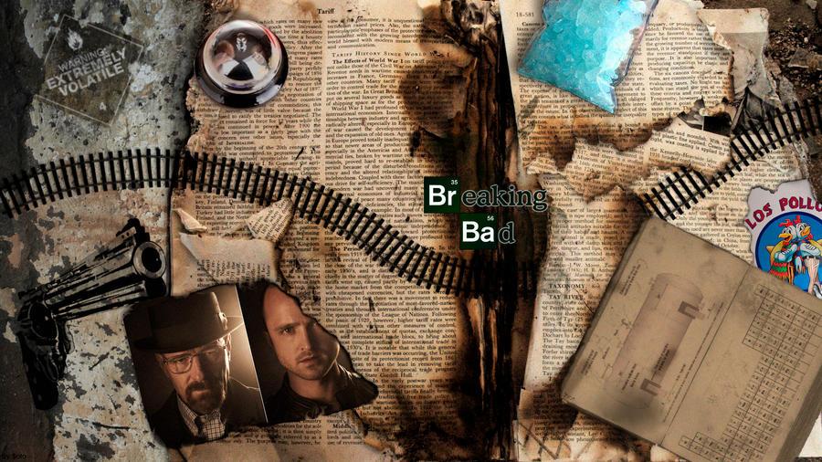 Wallpaper Breaking Bad by fonso69