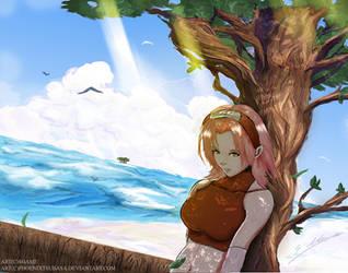 Sakura Haruno another world by Archange-st-Michael