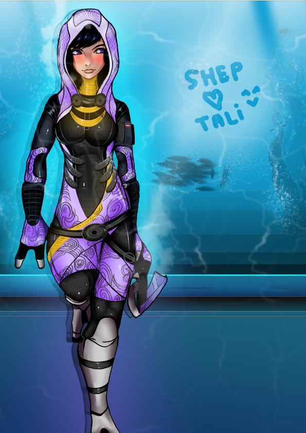 Tali SHepard 0 Point by Kingmedas