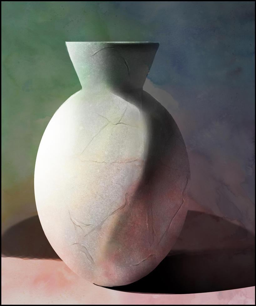 Vase digital by Kingmedas