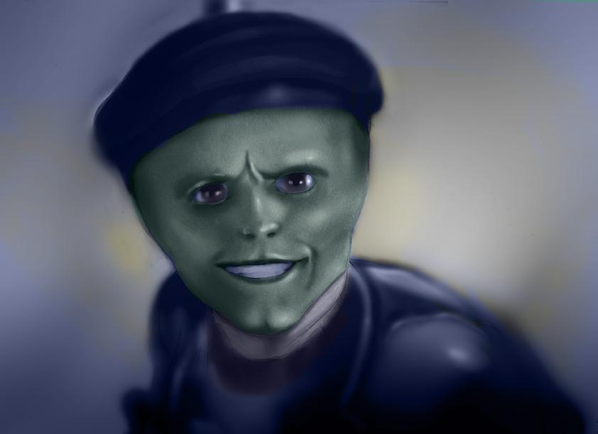 Jim Carrey The Mask by Kingmedas