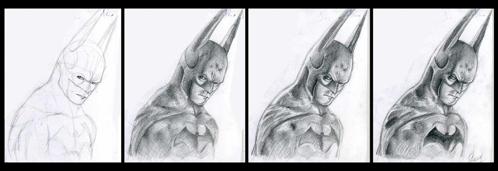 Because i'am Batman WIP by Phoenixtsubasa