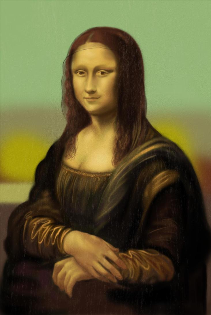 Mona Lisa (study) by Phoenixtsubasa