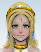 Fina Sellers head (Multiply and color) by Archange-st-Michael