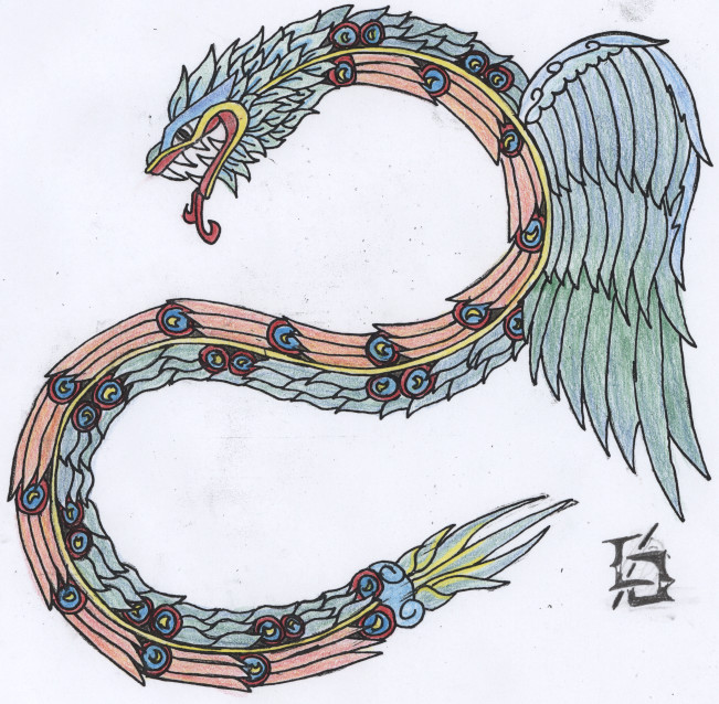 Quetzalcoatl by M-raptor