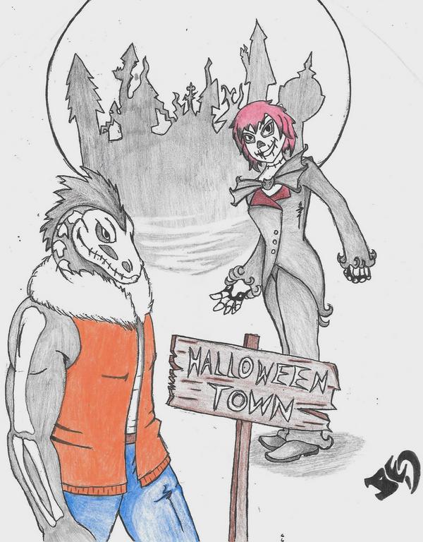 Raptor's Halloween Visit by M-raptor