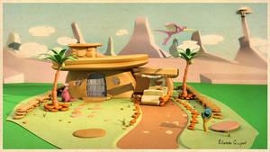 The Flintstones House