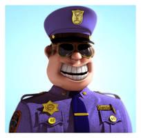 Garcia Officer by fabriciocampos