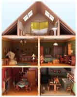 Doll House by fabriciocampos