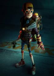 Tony Stark by fabriciocampos