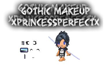 Fantage Gothic Makeup by xPrincessPerfectx