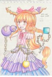 075-00 : Ibuki Suika by 0P2C