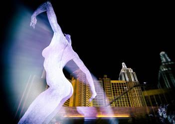 Dancing in Vegas by Flyy1