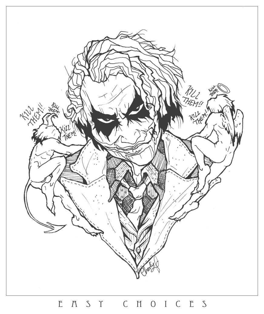 The Joker: Easy Choices by BramsSTFU on DeviantArt  The Joker: Easy...