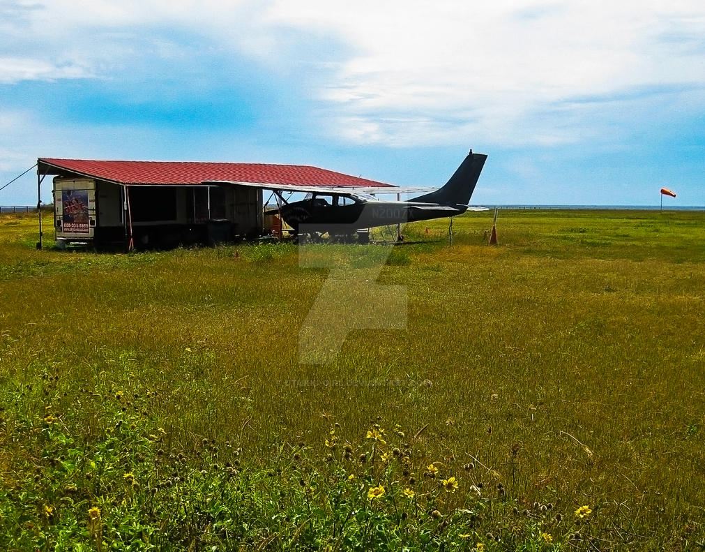 Old Flyer, Port Allen Airfield by Utukki-Girl