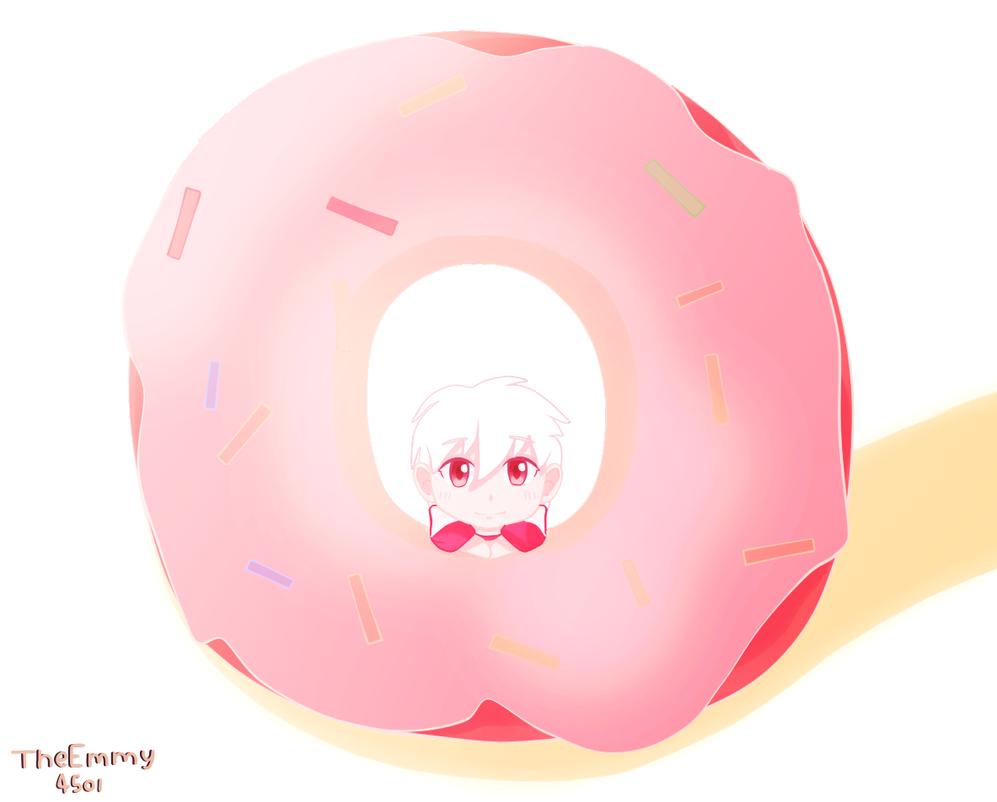 Donut Chibi Boy~! by TheEmmy4501