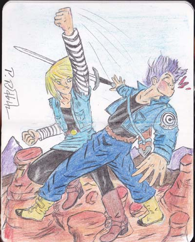 Android 18 Uppercut attack by PR-Scholtz