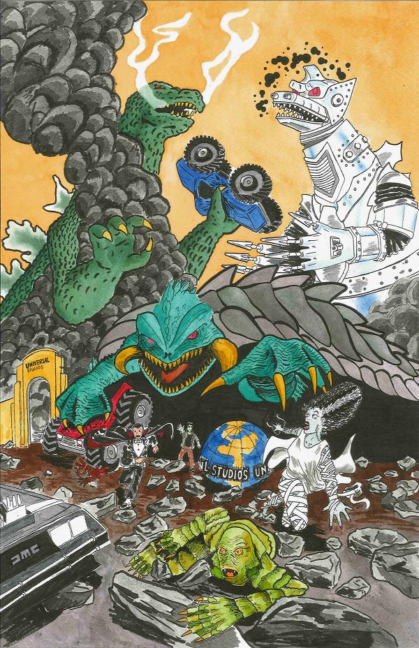 Monster Mash-Up by PR-Scholtz