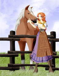 Epona's Song by MegzieSassypants