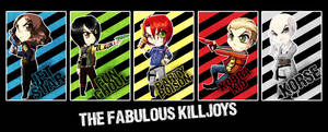 Chibis - The Fabulous Killjoys
