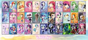 Chibi Set - My Little Pony