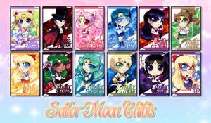 Chibi Set - Sailor Moon 2013