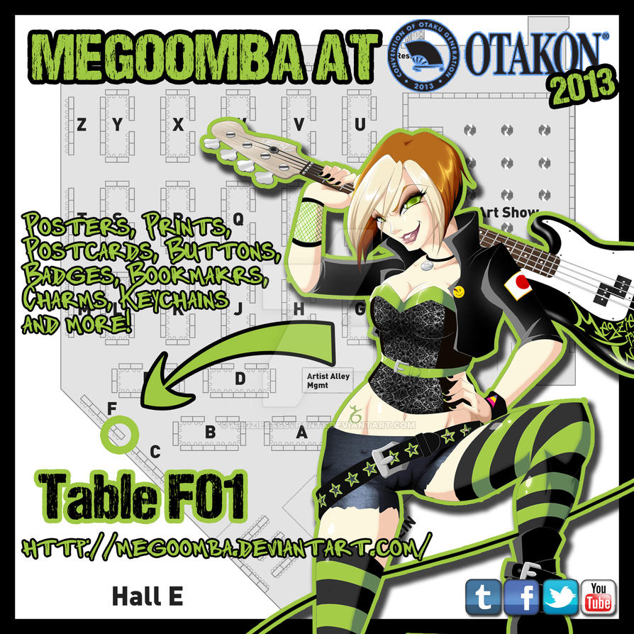 Otakon Placement by ToxicStarStudio