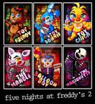 Chibi Set: Five Nights at Freddy's 2