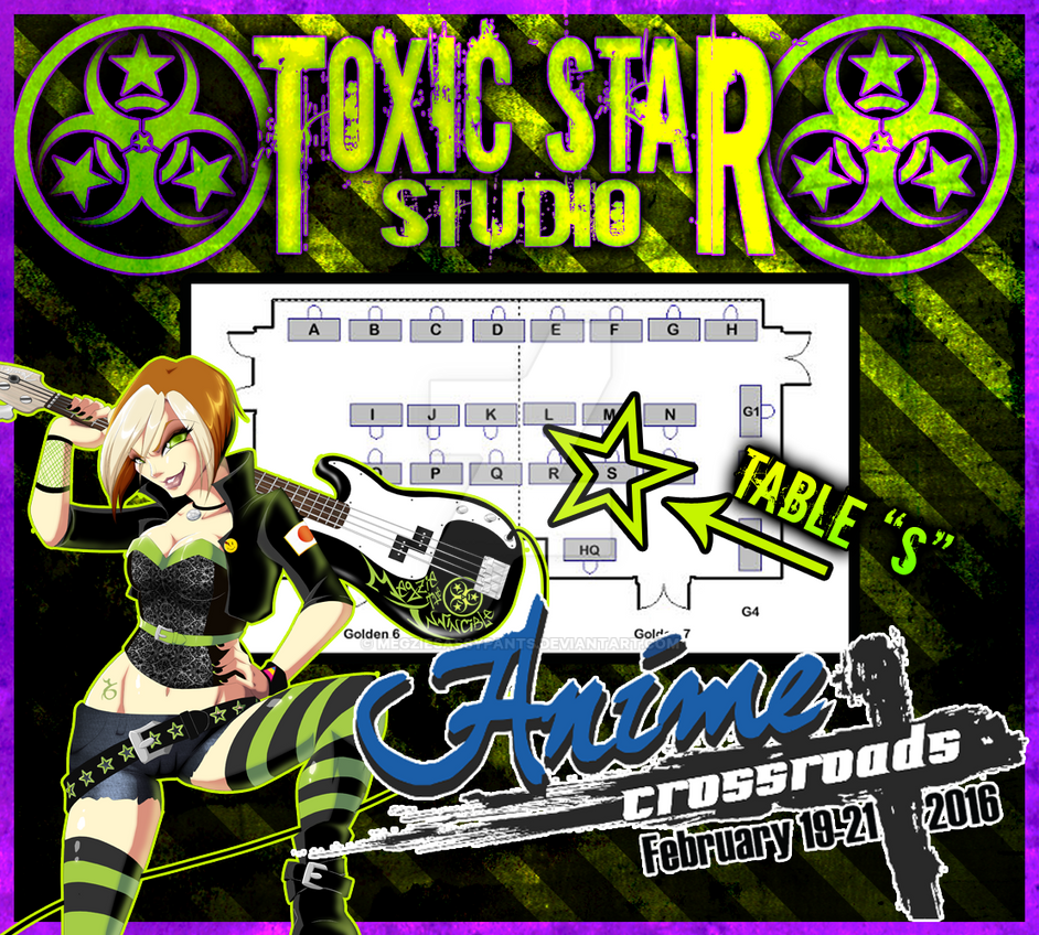 Anime Crossroads 2016 by ToxicStarStudio