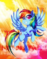 Big Adventure .:. Rainbow Dash by MegzieSassypants