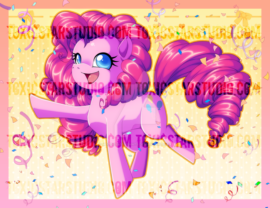 Tons of Fun .:. Pinkie Pie by ToxicStarStudio