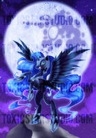 Princess of Darkness .:. Nightmare Moon by MegzieSassypants