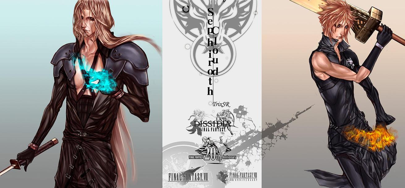 Sephiroth VS Cloud by TrixSr