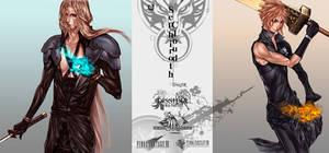 Sephiroth VS Cloud
