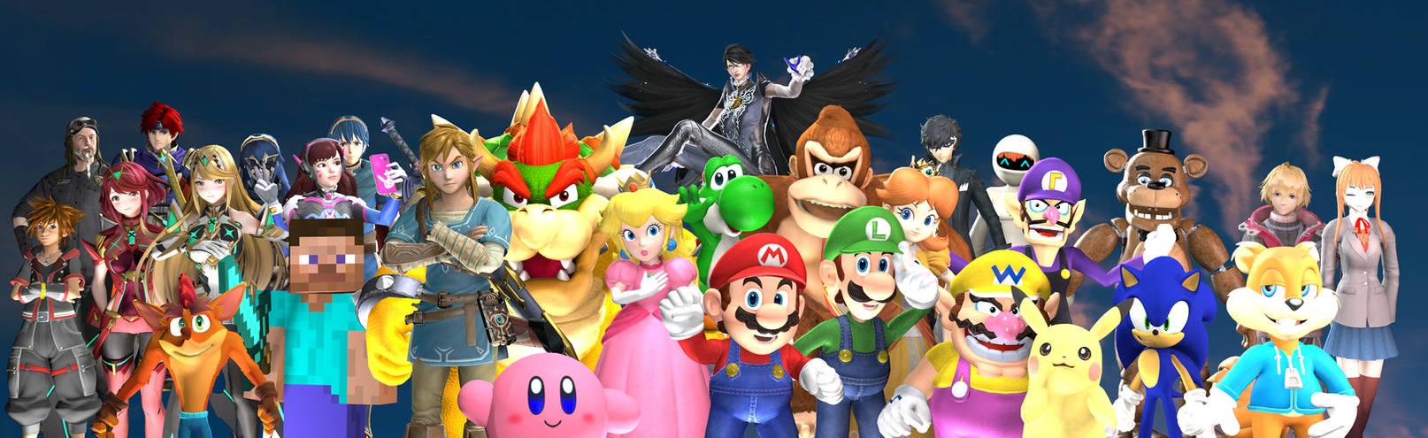 (SFM) Gaming All-Stars Unite