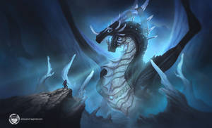 Facing dragon Commission