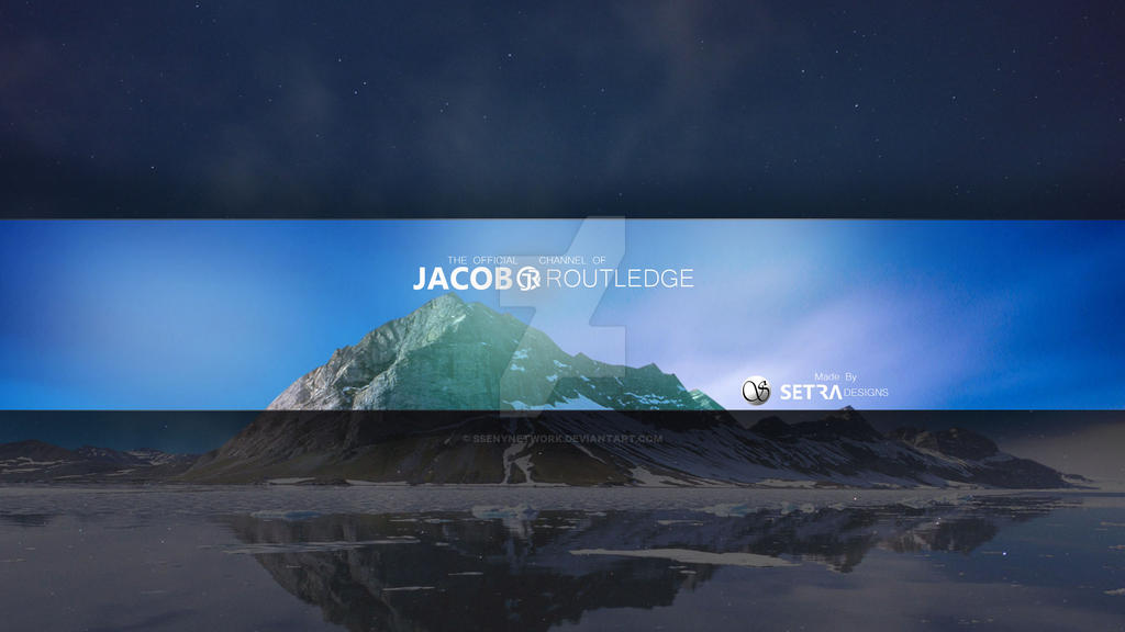 Jacob Routledge | Youtube Banner by SsenyNetwork